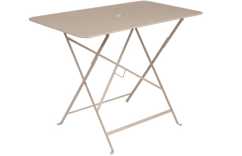 Bistro Folding Table 97x57 14 Nutmeg