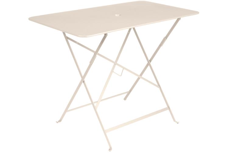 Bistro Folding Table 97x57 19 Linen