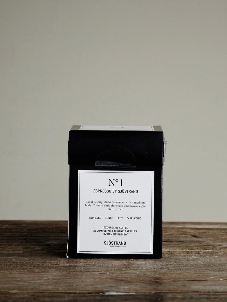 No1 Espresso by Sjöstrand (25-pack)