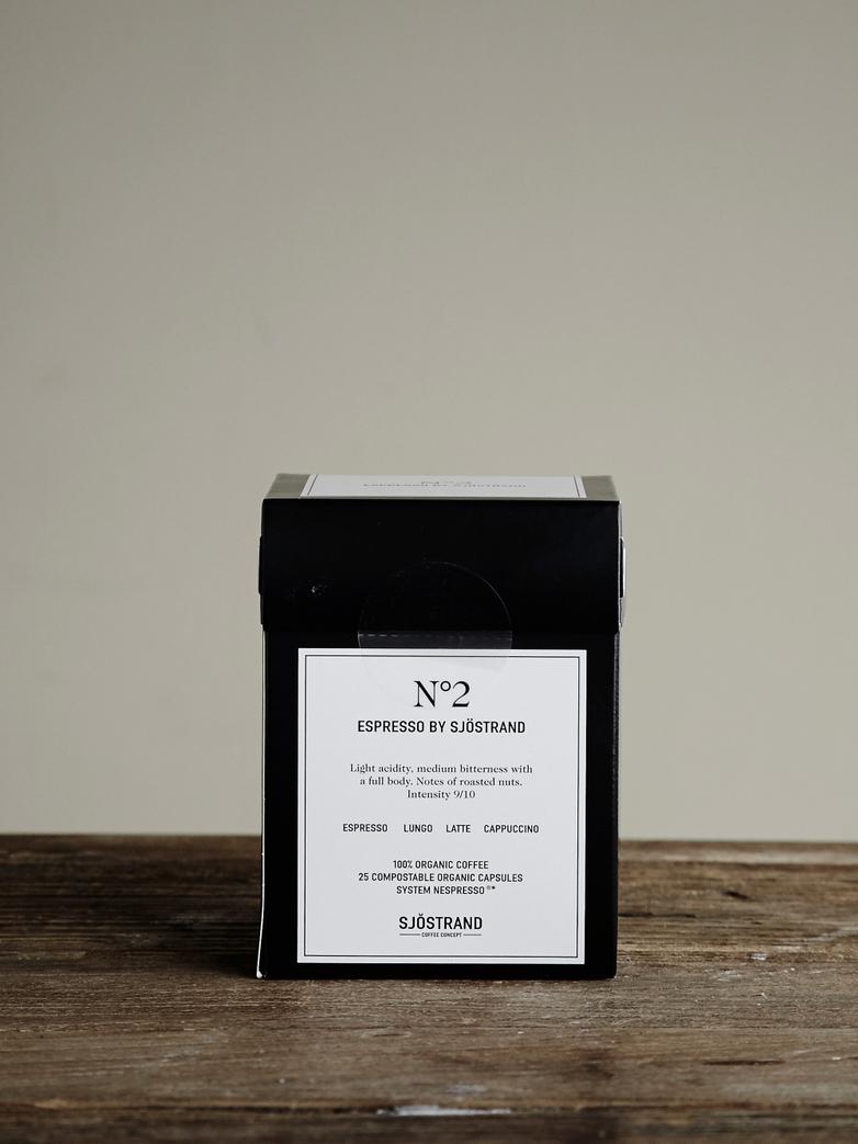No2 Espresso by Sjöstrand (25-pack)