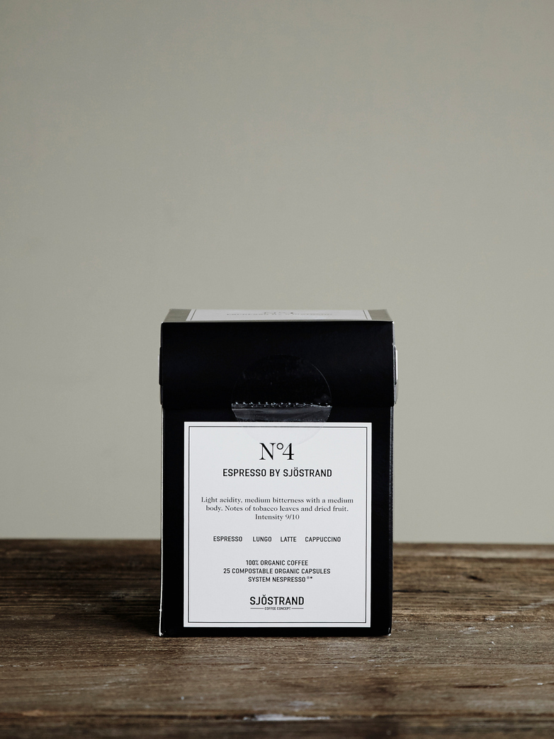 No4 Espresso by Sjöstrand (25-pack)