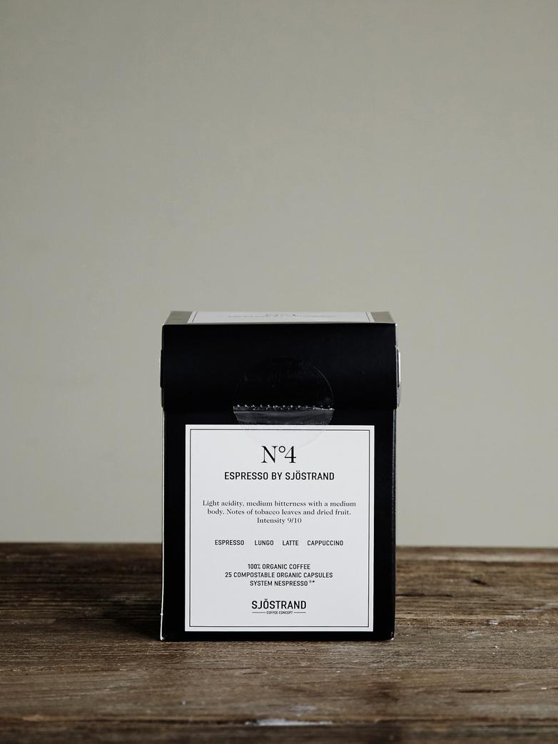No4 Espresso by Sjöstrand (25-pack)