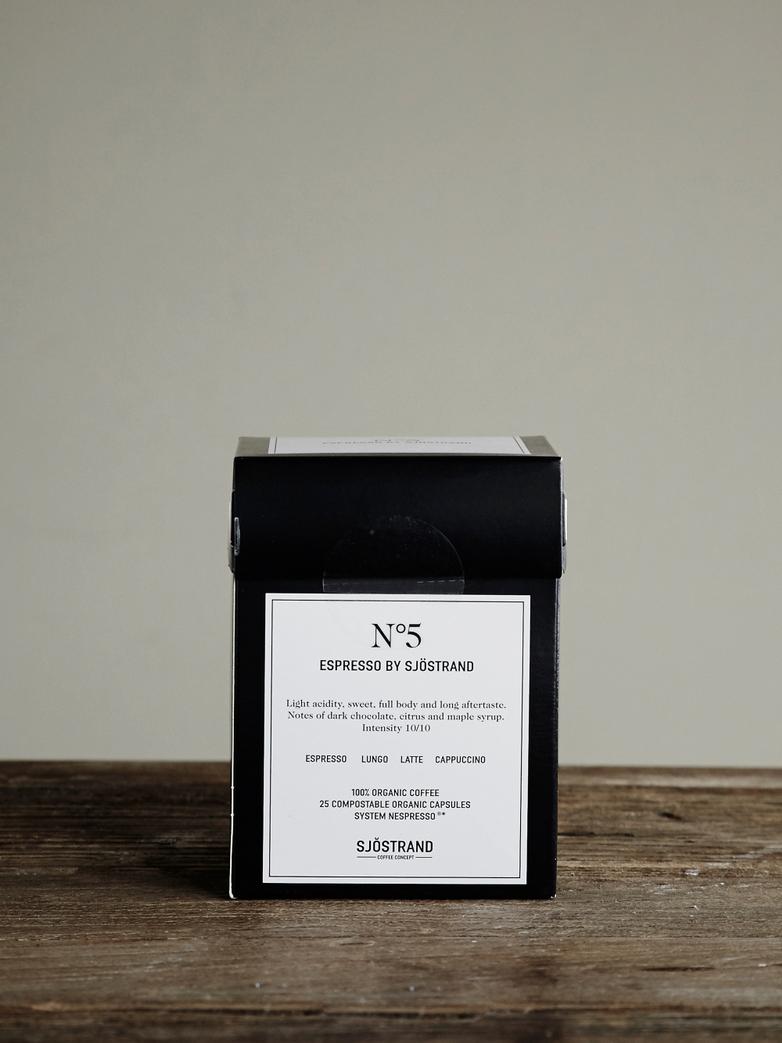 No5 Espresso by Sjöstrand (25-pack)