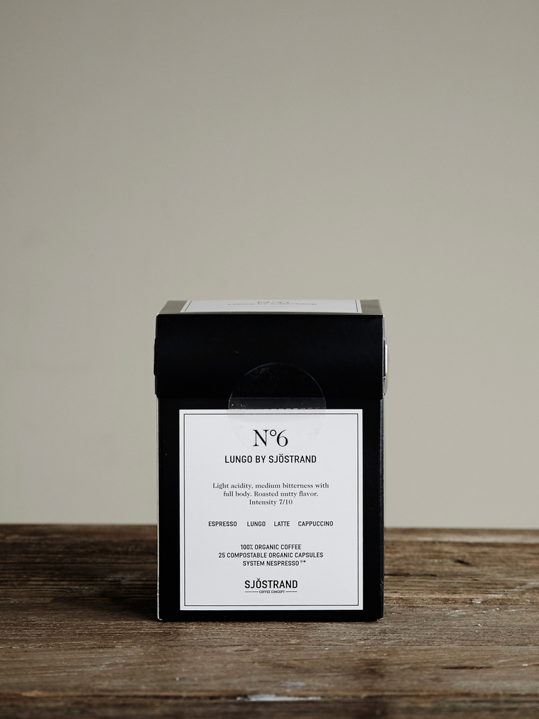 No6 Lungo by Sjöstrand (25-pack)