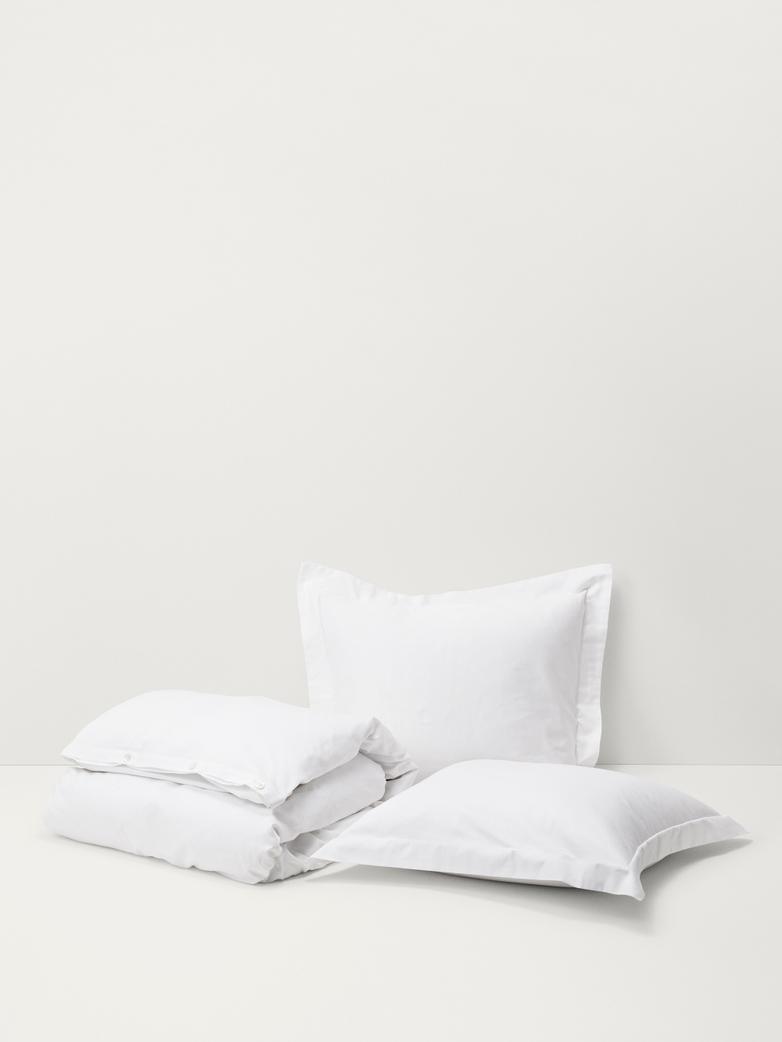 Cotton Sateen - New White