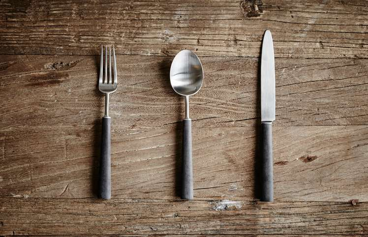 Ebony Cutlery Collection