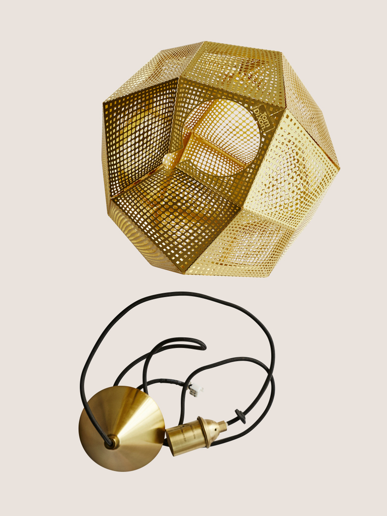 Etch Shade - Brass