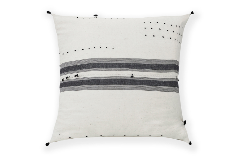 Stripes & Tassel Pillow