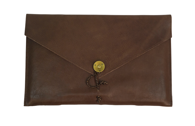Laptop Cover 13 Brown Leather