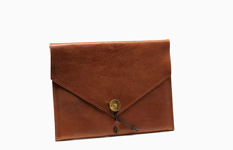 Ipad Cover Leather Tan