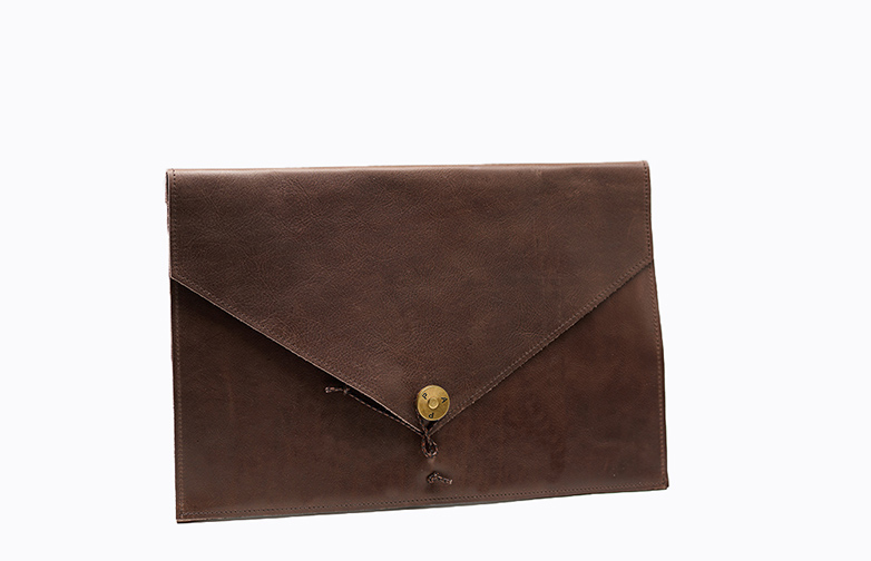 Ipad Cover Leather Brown