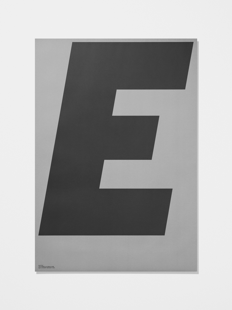 Grey collection poster E