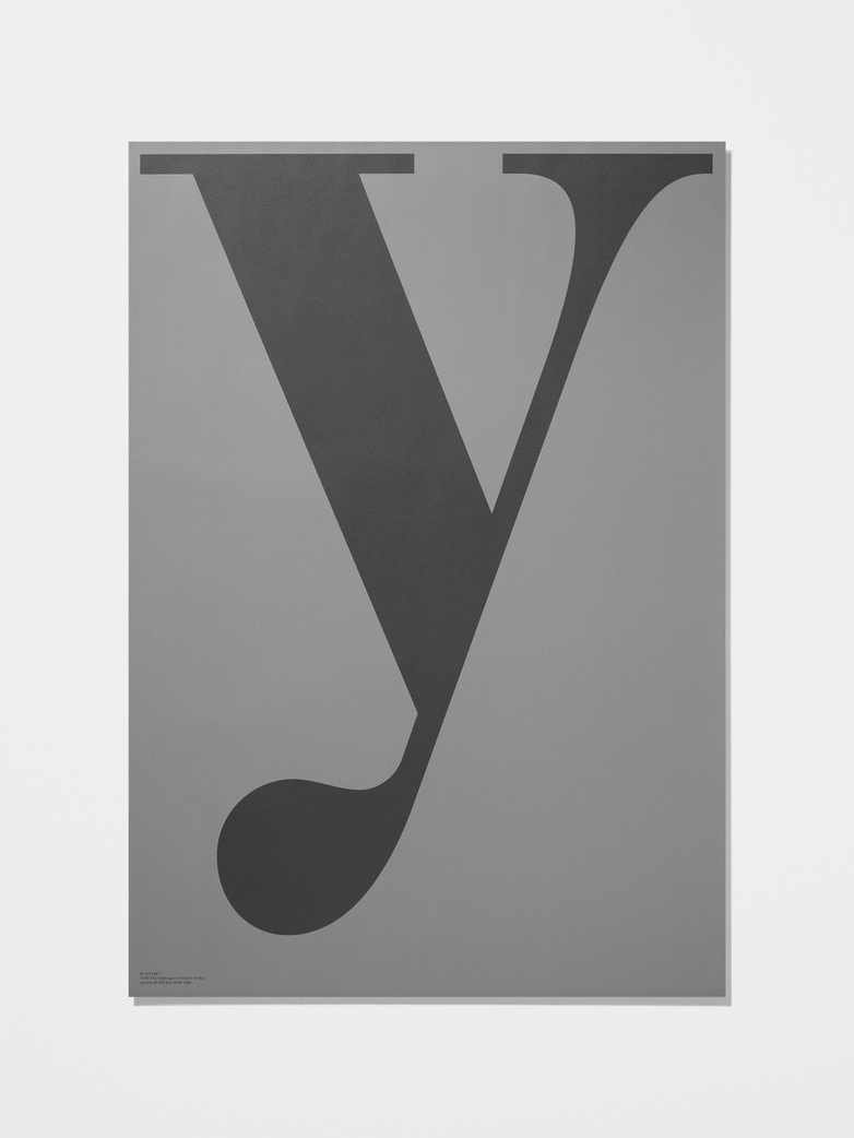 Grey collection poster Y