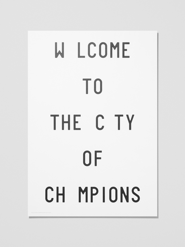 CJC Welcome To The City Of Champions