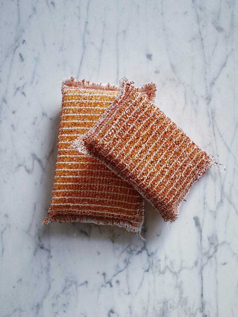 Copper Sponge Set Of Two