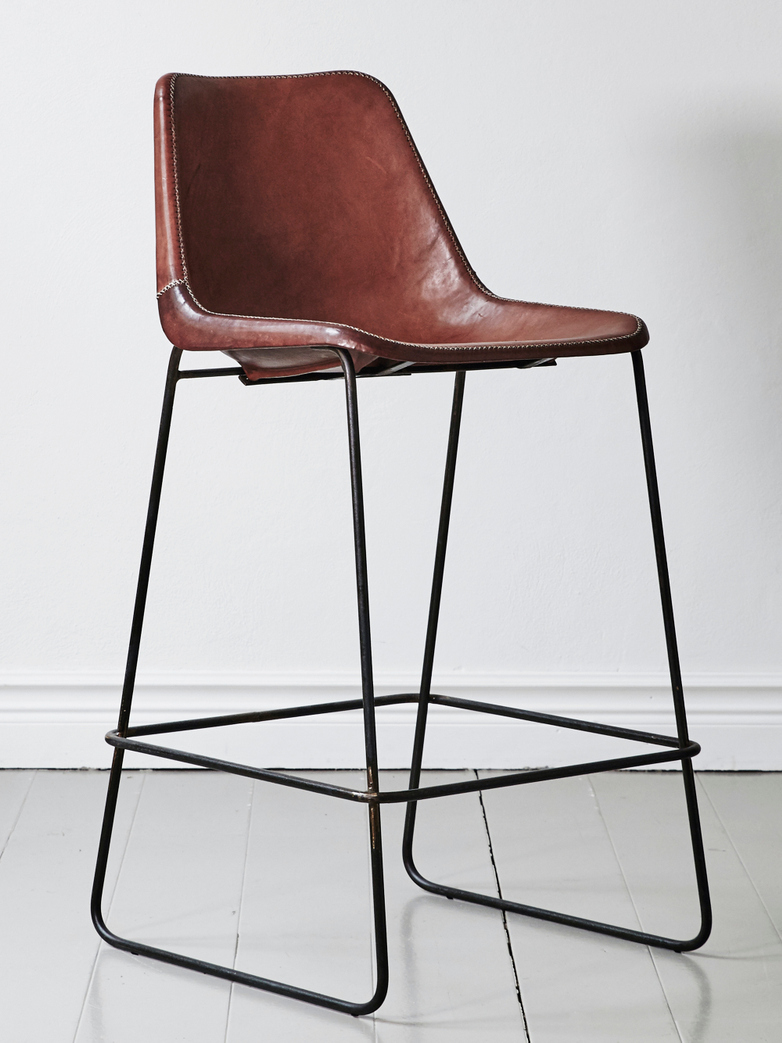 Leather Bar Chair