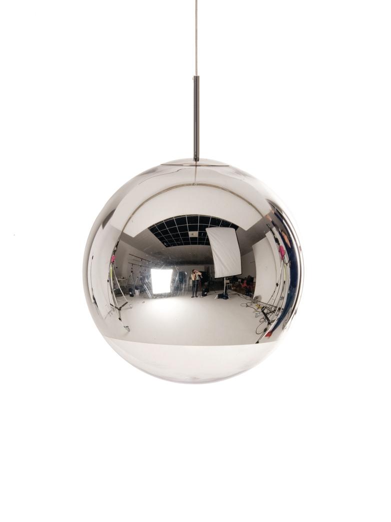 Mirror Ball Pendant Chrome