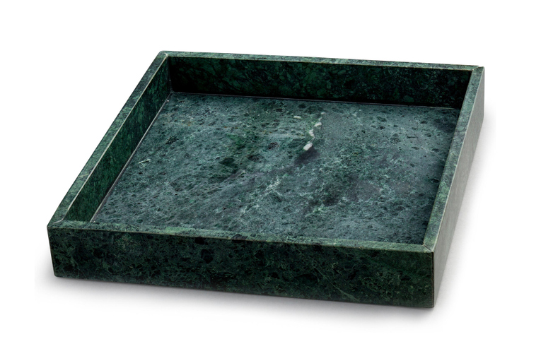 Green Marble Tray Square