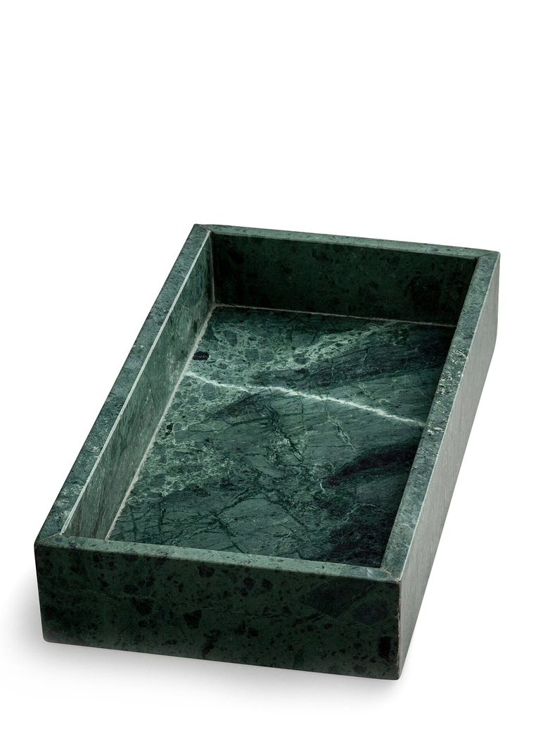 Green Marble Tray Rectangular