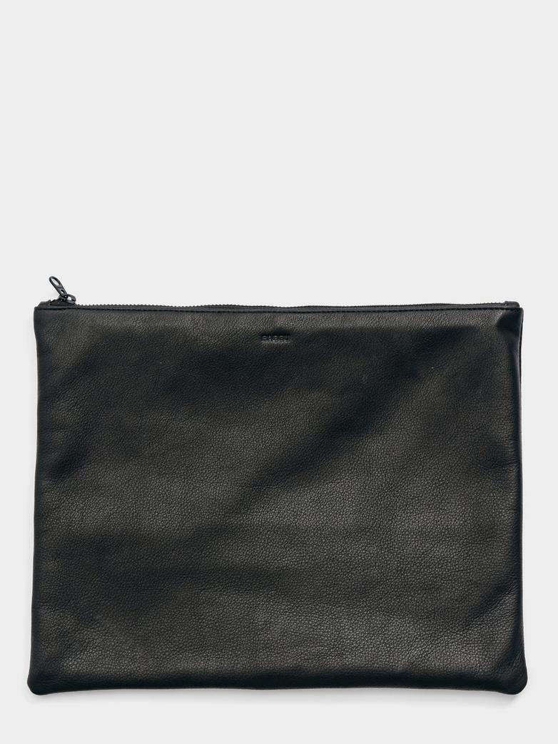 Large Flat Pouch Saddle - Black