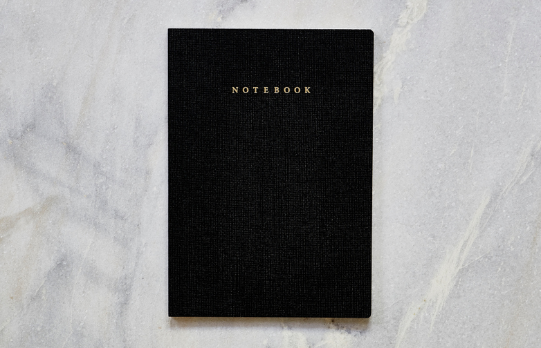 Notebook A5 Travelife Black