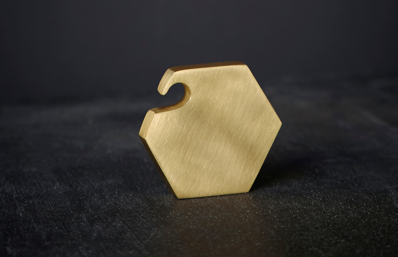 Hexagon Bottle Opener