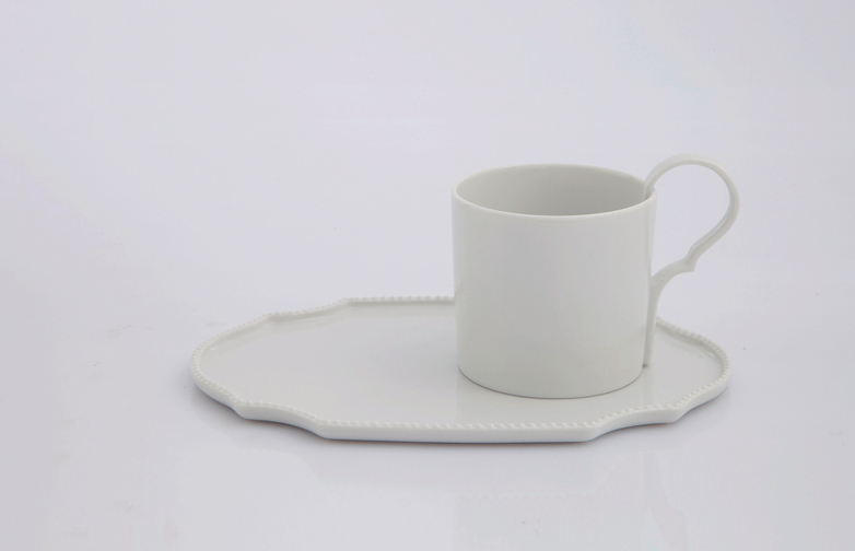 Taste Coffee Cup With Saucer