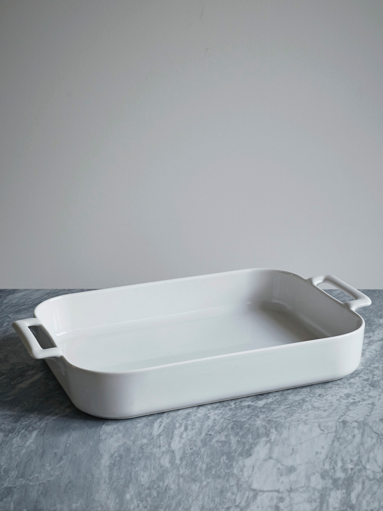 Belle Cuisine Roasting Dish White 43x32