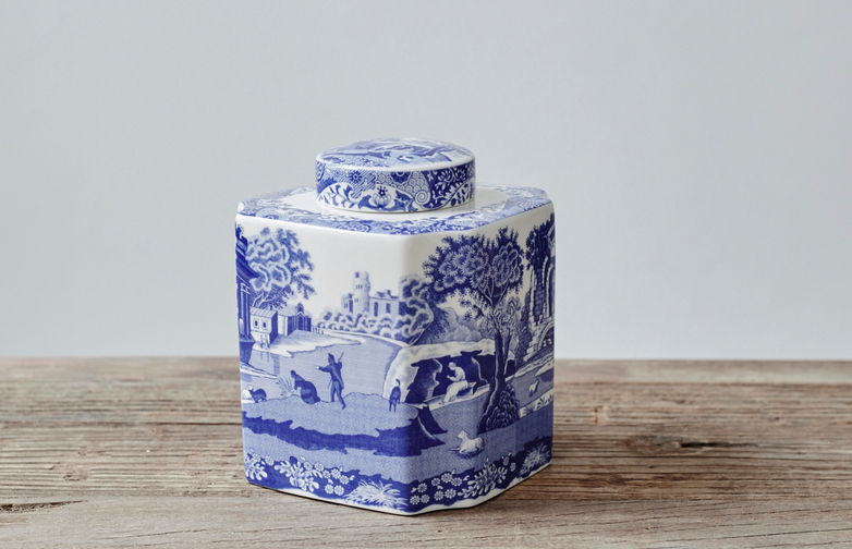blue-italian-tea-caddy
