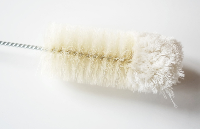 Cleaning Brush With Wool Nature