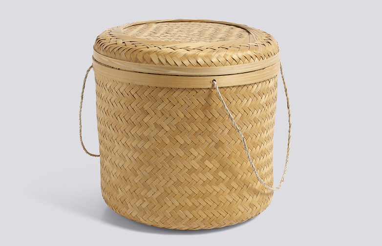 Bambo Baskets With Handle