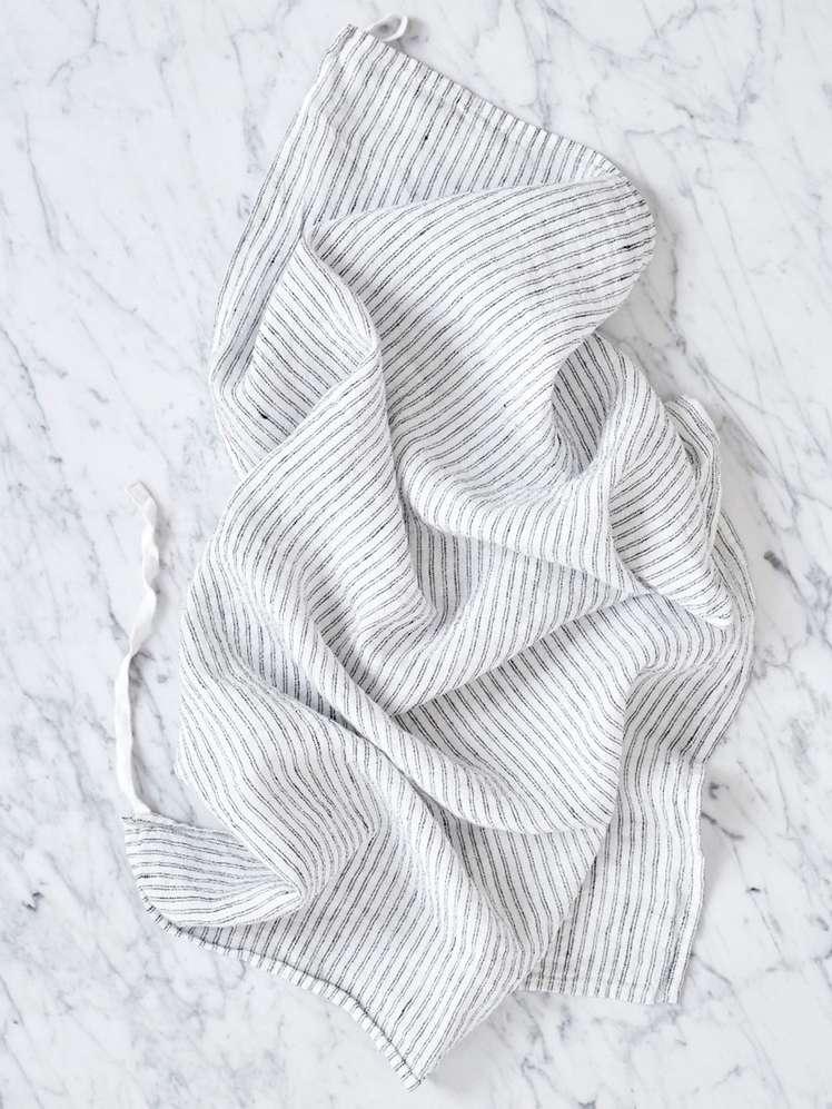 Pyjama Stripes Black White
