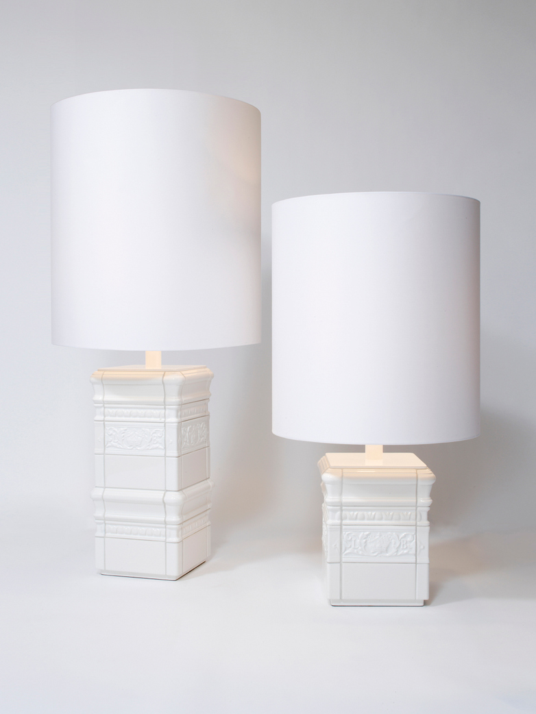 Tile Lamp White
