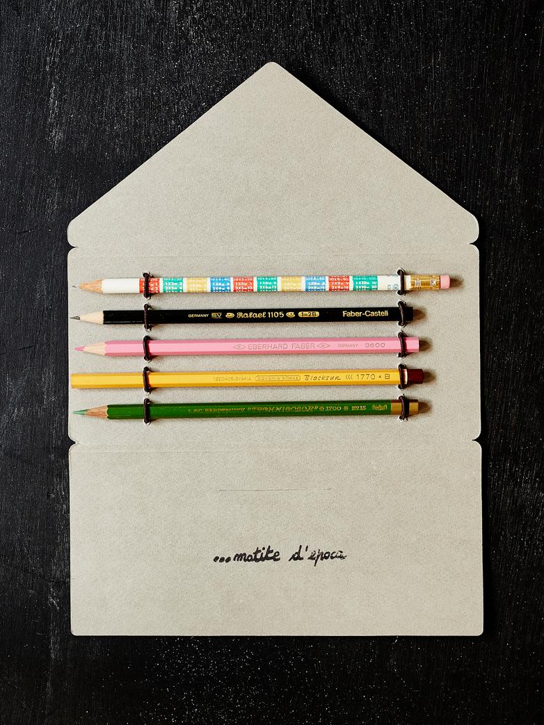 Vintage Pencil Folder