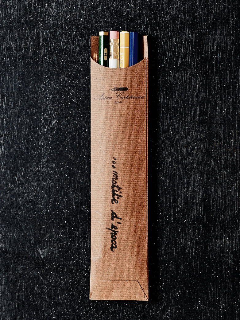 Vintage Pencil Pocket