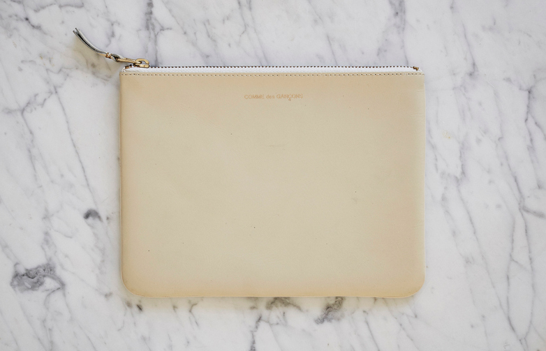 Classic Pouch Wallet White