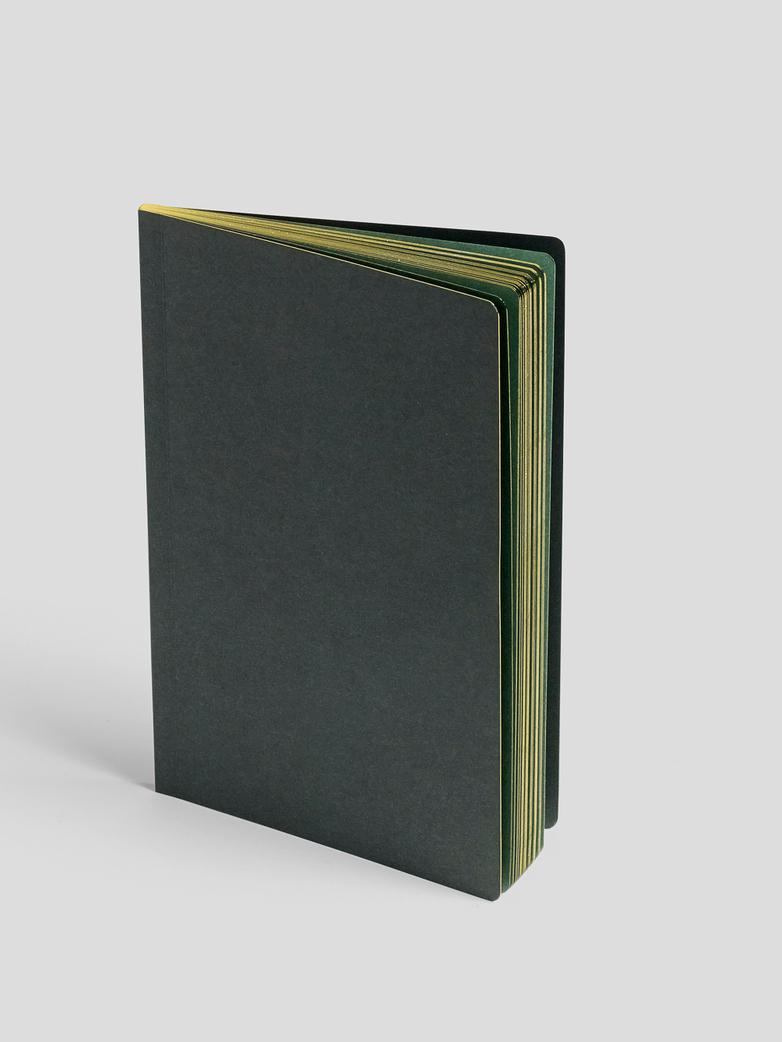 Edge Notebook Dark Green