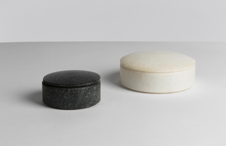 Lens Box Marble