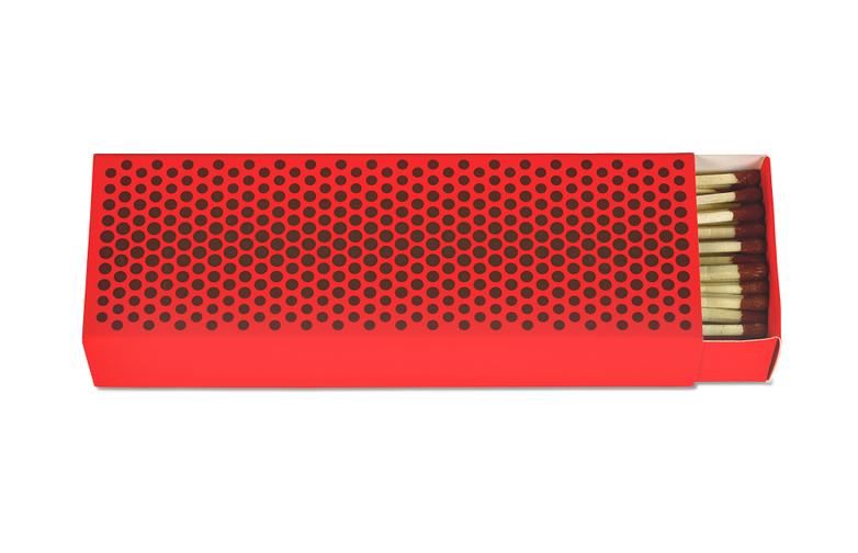 Strike Fluorescent Red
