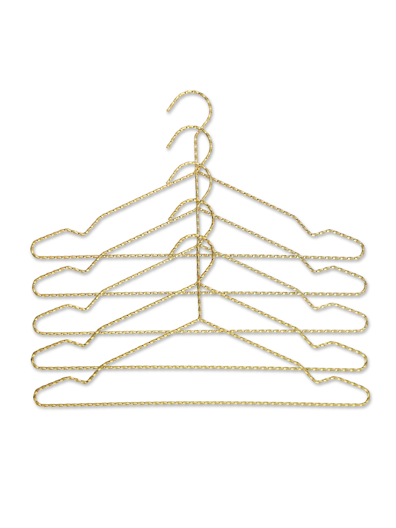 Twisted Hanger Brass