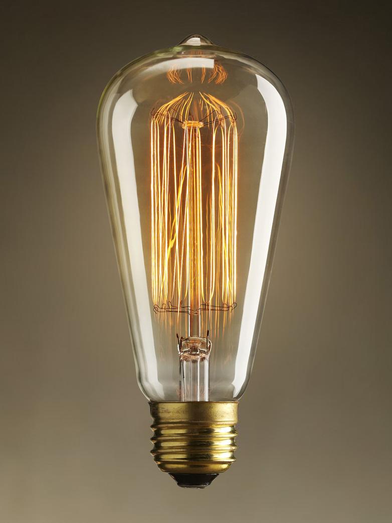 40W Naked Bulb