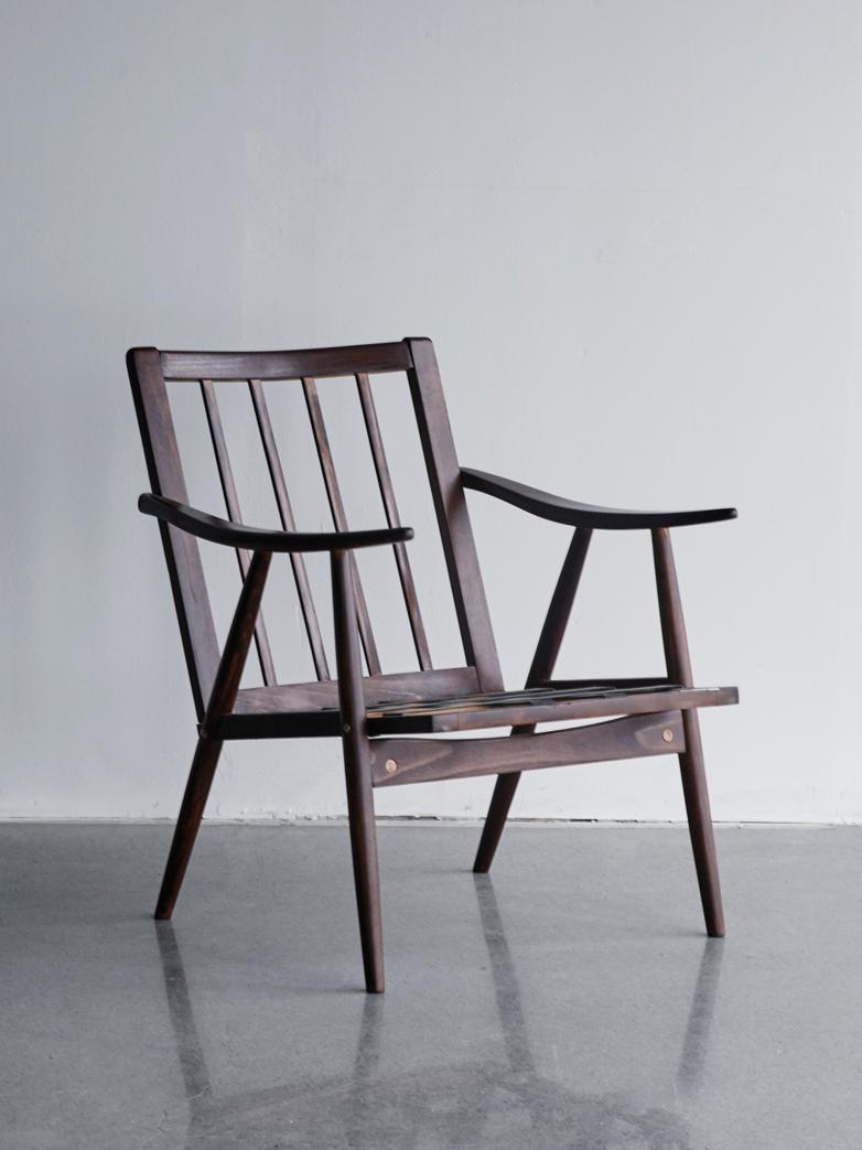 Vintage Low Armchair