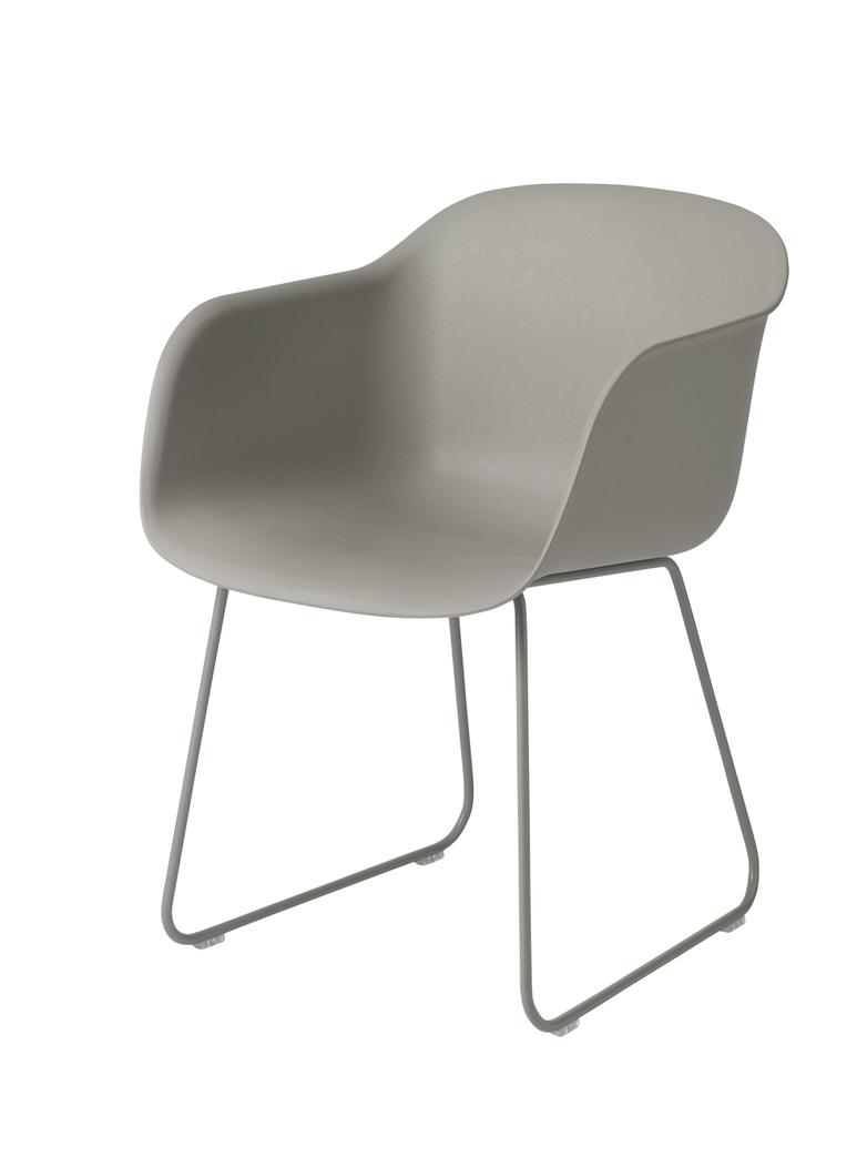 Fiber Chair Sled Base - Normal Shell