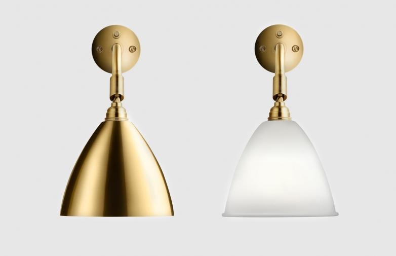 Bestlite 7 Wall Lamp Brass
