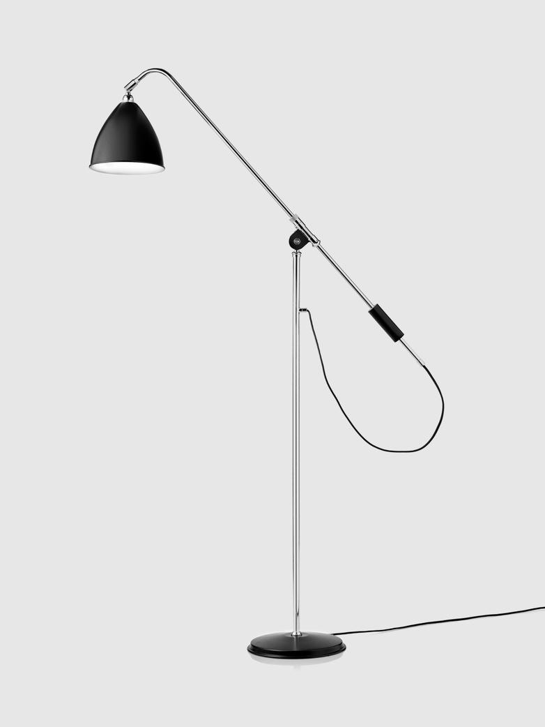 Bestlite BL4 Floor Lamp Chrome