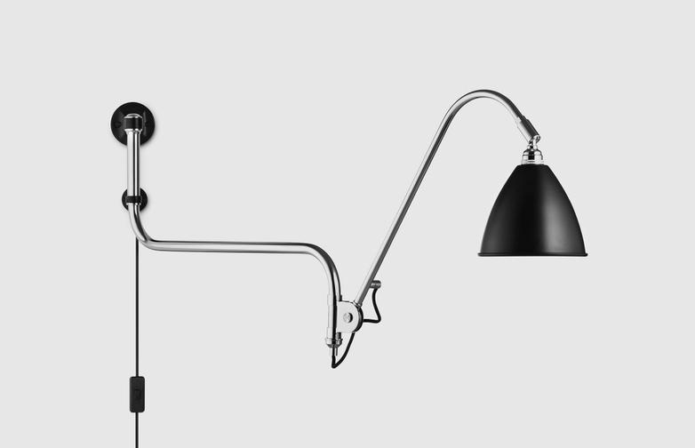 Bestlite Wall Lamp BL10 Chrome