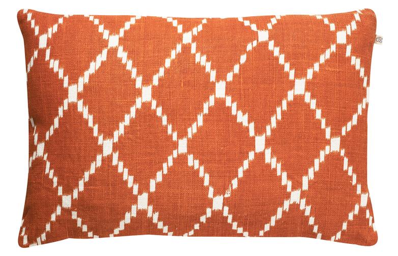 Ikat Kerala Jaffa Orange 40x60 cm