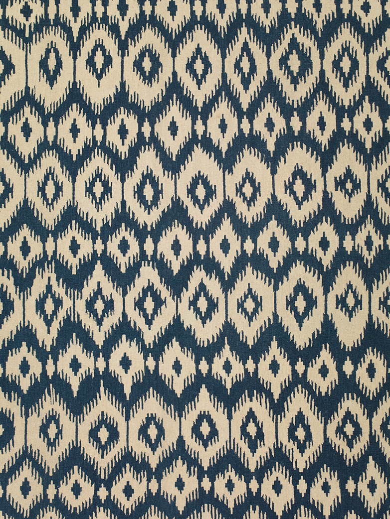 Ikat - Blue - Nature